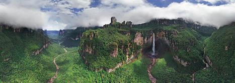 Venezuela. Surroundings of Angel Falls-360 Degree Aerial Panorama | Shock Wave | Scoop.it
