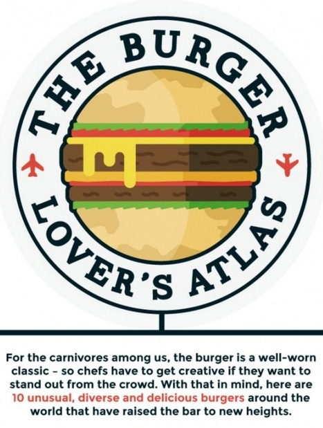 10 Wacky Burgers from Around the World | Daily Infographic | World's Best Infographics | Scoop.it