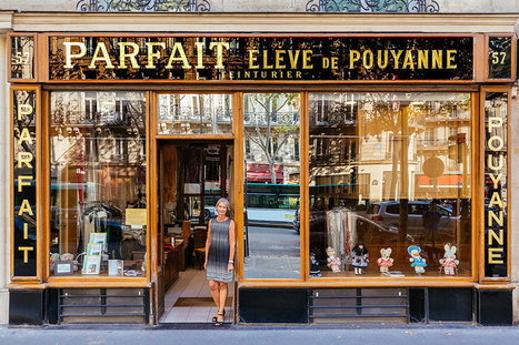 Colorful Paris Storefronts And Their Owners Reveal The True Story Of The City | Inspired By Design | Scoop.it