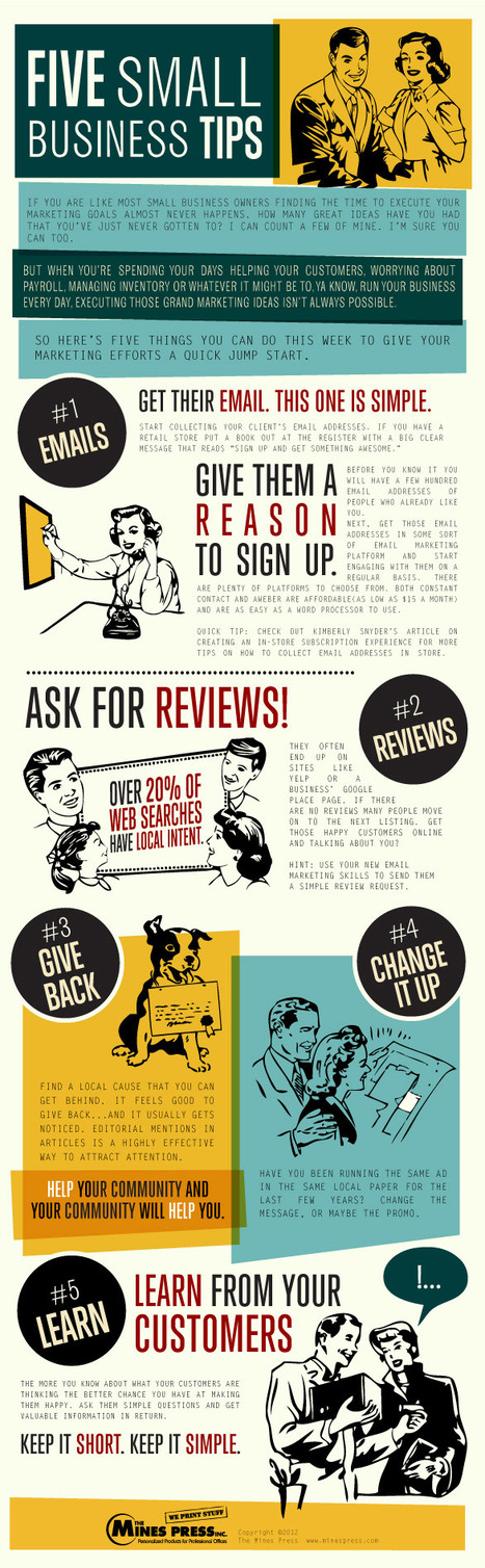 5 Customer-Centric Tips for Small Businesses [INFOGRAPHIC] | The Social Media Scoop | Scoop.it