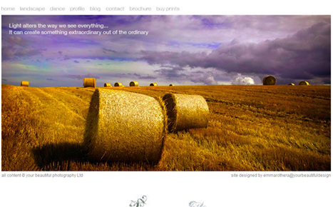 35 Beautiful Photography Websites | Photography Tips | Scoop.it