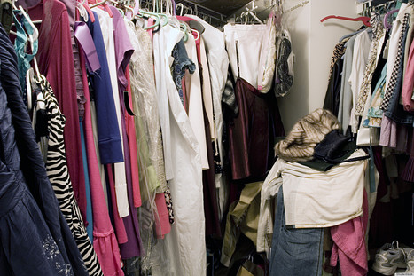 Three Steps to a Fabulous Closet - Huffington Post Canada | Organizing and Downsizing a home | Scoop.it