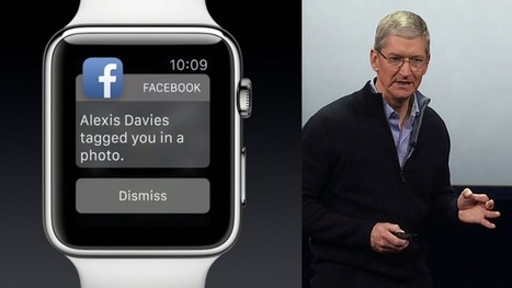 Facebook promised an Apple Watch app last month, but it's still missing | Facebook - the cultural phenomenon | Scoop.it
