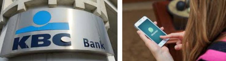 Belgium's KBC Bank is offering customers the op