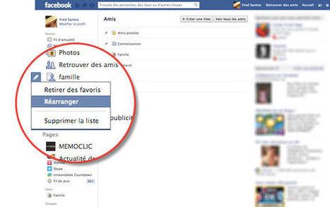 [Facebook] Listes d'amis Facebook : les créer, les modifier ou les supprimer   Communication - Marketing - Web_Mode Pause   Scoop.it