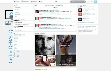 Utilisez la puissance du moteur de recherche de Twitter | François MAGNAN  Formateur Consultant | Scoop.it