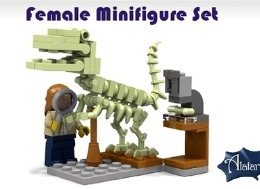 Female Minifigure Set | Social Media for nonprofits | Scoop.it