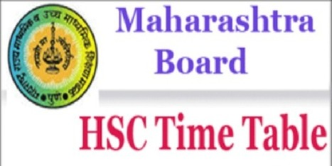 Maharashtra Hsc Time Table 2019 य