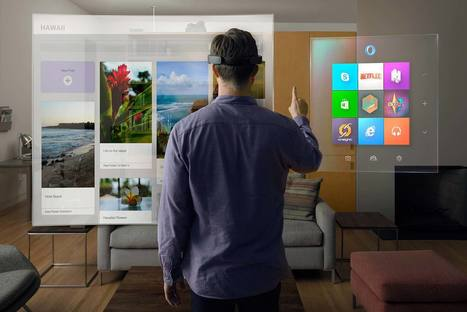 Microsoft HoloLens | STEM Education models and innovations with Gaming | Scoop.it