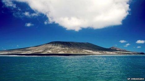 Hunga Tonga volcano eruption forms new S Pacific island | Geography @ Stretford | Scoop.it