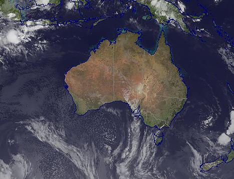 Australië drijft zo snel weg dat GPS het niet kan bijhouden | aardrijkskunde | Scoop.it