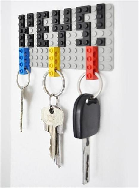 Never Lose Your Keys Again (Thanks To Lego)   Knowledge Weighs Nothing   Work  Life Balance   Scoop.it