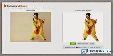Background Burner : un outil en ligne pour éliminer facilement le fond d'une photo | tice | Scoop.it