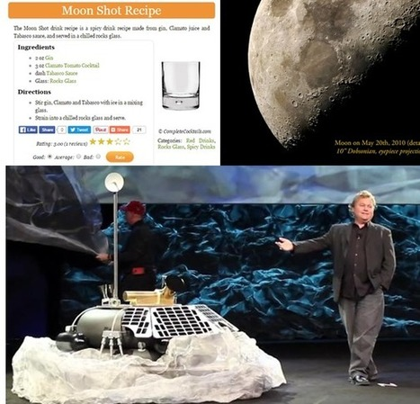 """If Justin Trudeau   Wants """" Moon Shots,""""  He Should Look to the Moon! 