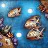 Fish Frame Decor