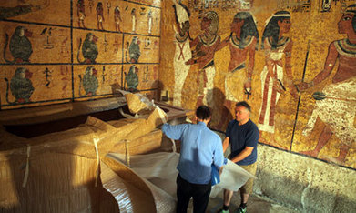 Tutankhamun's replica tomb unveiled | Ancient Egypt and Nubia | Scoop.it