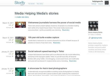 Storify | Social media kitbag | Scoop.it
