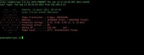 Raspberry Pi: Increíble MOTD | PlanetUbuntu.es | InternetdelasCosas | Scoop.it