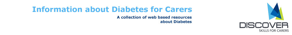 Information about Diabetes for Carers