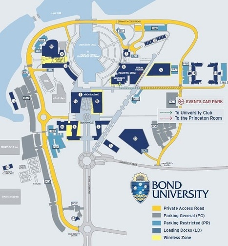 st philips campus map Campus Map Of Bond University Don T Get Lost st philips campus map