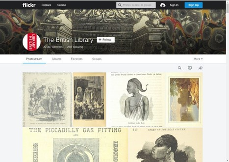 British Library posts 1 million copyright-free images online | The World of Open | Scoop.it