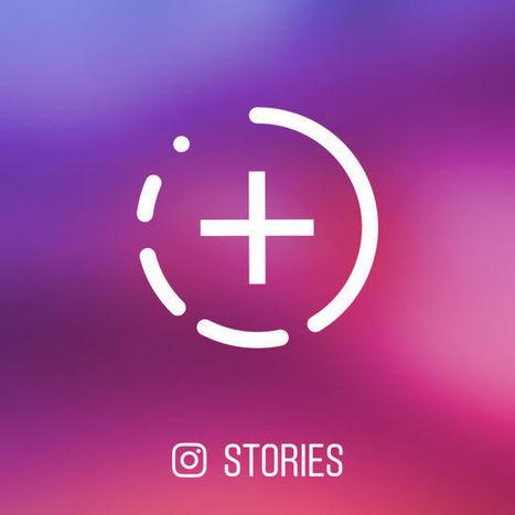 Nouveautés Instagram Stories : mentions, lien externe et intégration de Boomerang - Blog du Modérateur | Culture numérique | Scoop.it