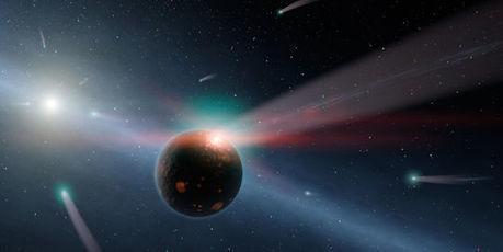 Une comète artificielle, clé des origines | A la recherche des extraterrestres | Scoop.it