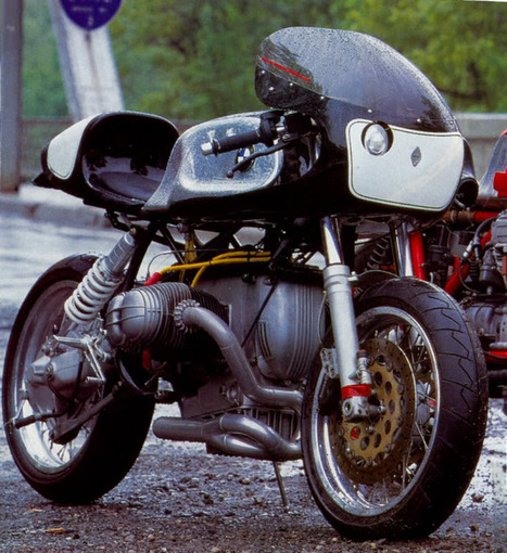 """BMW BOXER """"TI"""" by TEAM INCOMPLETE   BMW Classic   Scoop.it"""