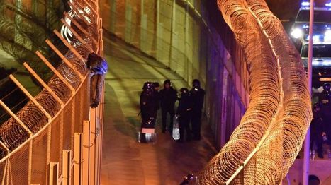 Migrants storm border fence in Spanish enclave of Ceuta - BBC News | FCHS AP HUMAN GEOGRAPHY | Scoop.it