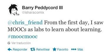 Los MOOC como laboratorios para aprender sobre el aprendizaje | Aprendizaje en red. El cambio de paradigma. | Scoop.it