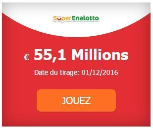55 100 000 &euro; au #SuperEnalotto #SuperStar<br/><br/>Tirage ce Jeudi 01-12 | Pariez avec ASTROQUINTE | Scoop.it