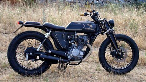 CRD Blends Zundapp and Honda DNA into an Amazing Build - autoevolution | vintage motos | Scoop.it