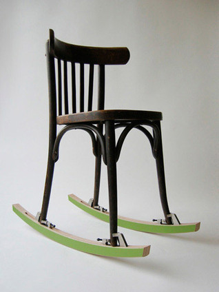 Rocking Chair Transformer Kit | Seating | Home | What Surrounds You | Scoop.it