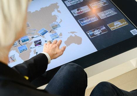 Thomas Cook dévoile son agence digitale réalisée par Brio   Retail Design Review   Scoop.it