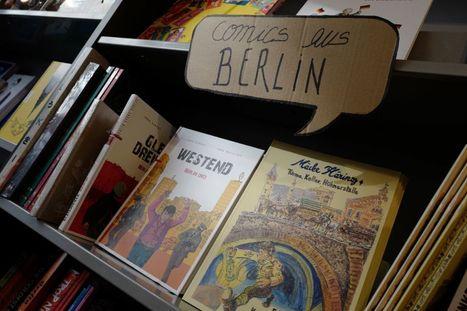 """Berlin, nouvel eldorado de la """"bande dessinée du réel""""   livres allemands -  littérature allemande - livres sur l'Allemagne   Scoop.it"""