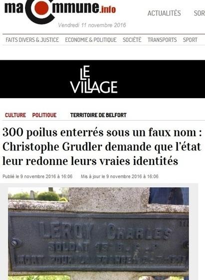300 poilus enterrés sous de faux noms   Charentonneau   Scoop.it