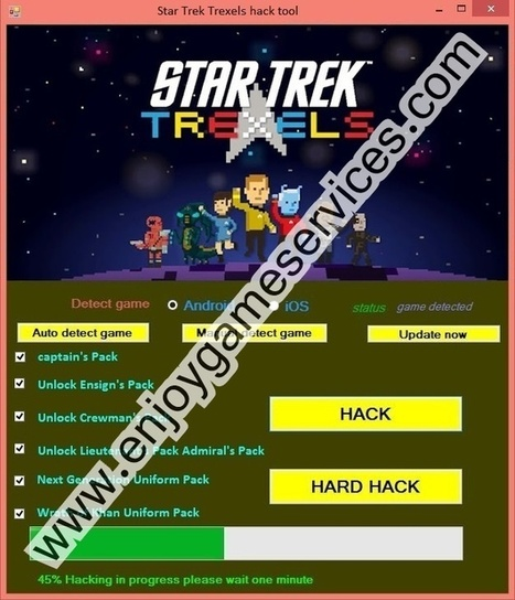 star trek trexels hack