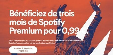 Spotify casse les prix de son abonnement premium à 0,99€ par mois - MyBandNews | Musique et Innovation | Scoop.it