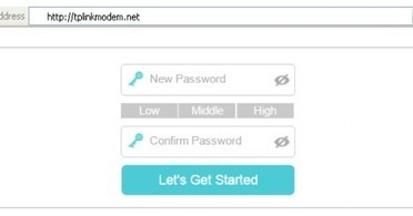 Access the Login Page for your TP-Link WiFi Mod