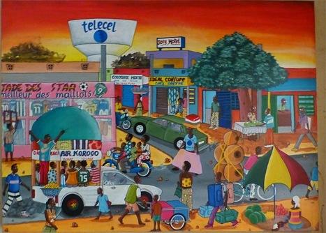 art africain naif
