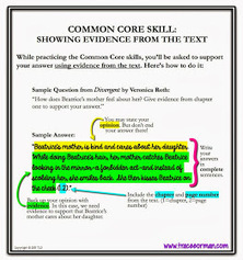 One of the most important reading and writing skills: Showing Evidence | SAU #48 Common Core Collaboration | Scoop.it