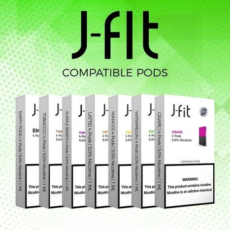 J Fit Pods - juul compatible pods - best juul c