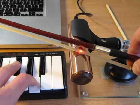 O-Bow, le violon électronique qui produit le son à partir d'un laser   Geek or not ?   Scoop.it