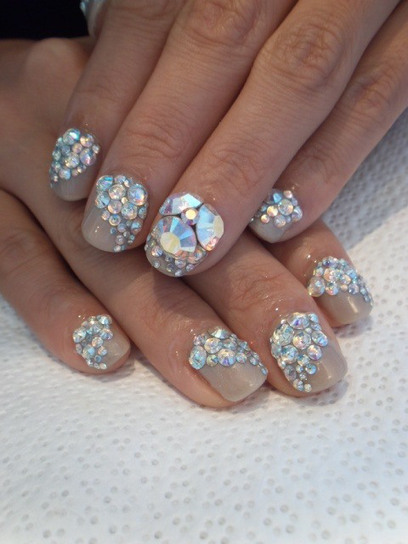 Excellent Crystal Nails - Nail Design Id\' in Nail Ideas 2015 | Scoop.it