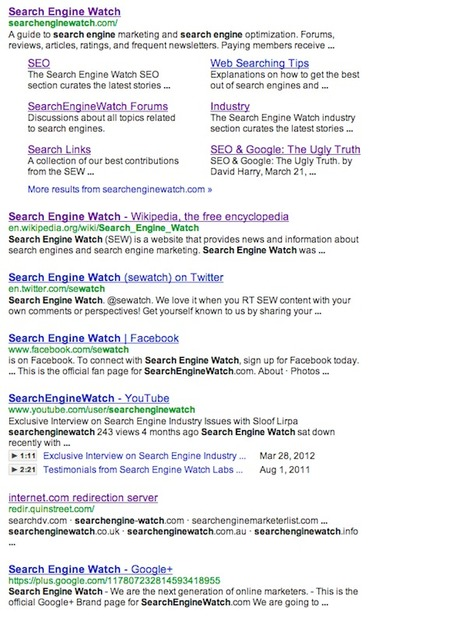 Why 7 Search Results in Google Should be Your Brand New Lucky Number | SIM Partners - Social Media | Scoop.it