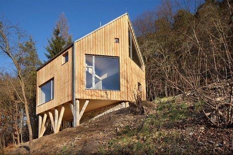 maison bois sur terrain non constructible