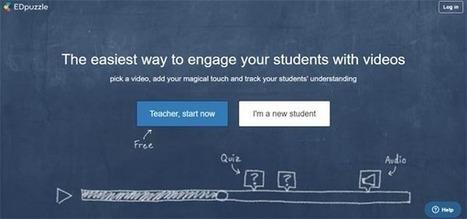 Pour les profs : Utiliser la vidéo en classe inversée avec EdPuzzle | Innovation sociale | Scoop.it