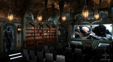 Feast your eyes on the Dark Knight home theater - Holy Kaw! | Stagecraft | Scoop.it
