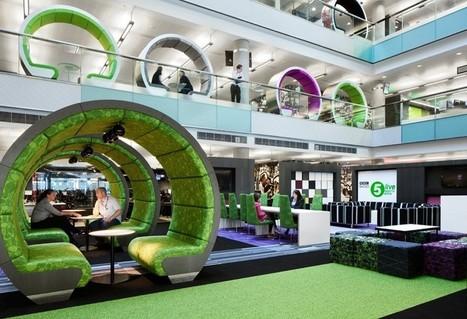 Office Interior Trend: Semi-Private Booths | tecnologia s sustentabilidade | Scoop.it