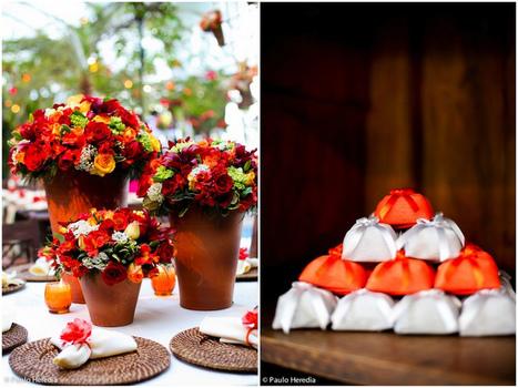 Tangerine Tango : la couleur de l'année 2012 » Blog de mariage – Mariagesetc.fr | Getting Married in South West France | Scoop.it